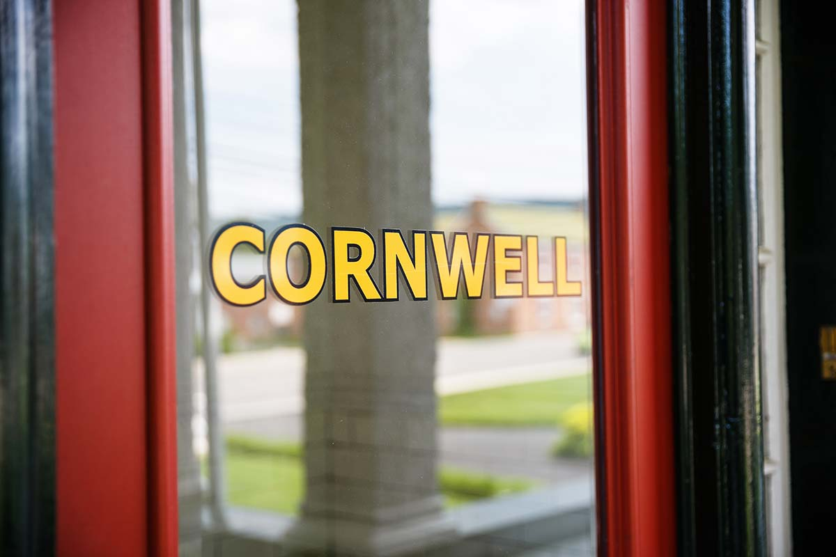 Cornwell Mansion Door